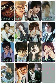 男性声優×メガネの画像(プリ画像)