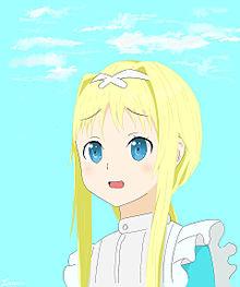 SAO アリシゼーション アリス プリ画像