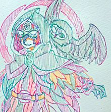 夜行フクロウの画像(占い師に関連した画像)