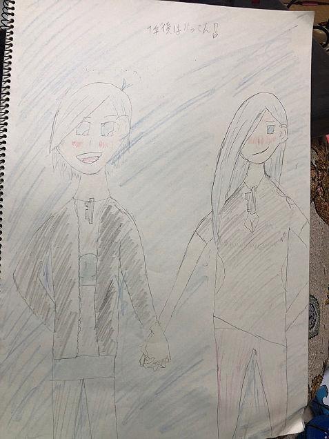 カラ松とカラ子の画像(プリ画像)