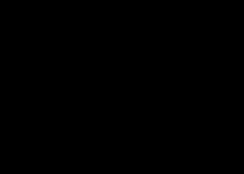背景透過:ツキウタロゴ プリ画像