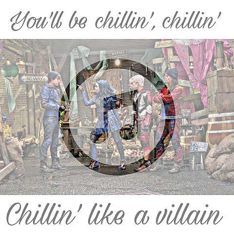 Chillin' like a villainの画像(プリ画像)