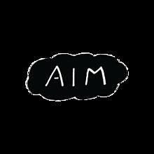 AIM 背景透過☁︎ プリ画像