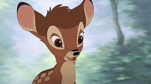 笑顔のバンビ