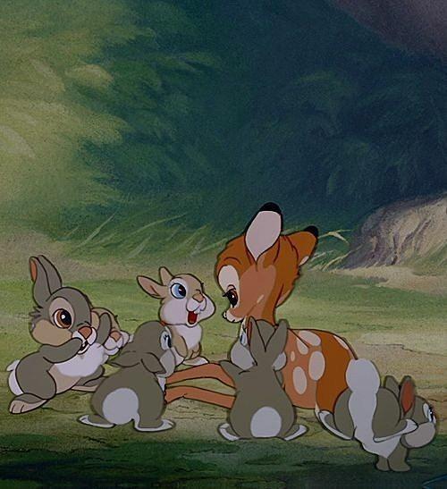 子ウサギとバンビ