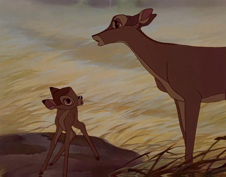 母とバンビ