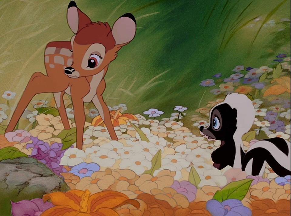 フラワーとバンビ