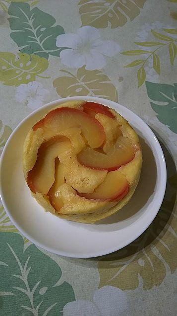 リンゴのケーキの画像(プリ画像)