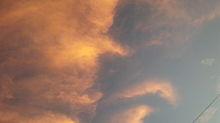 夕焼け雲の画像(プリ画像)