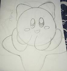 オリカビのメルビィ 下描き プリ画像