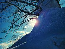 冬の晴天の画像(景色に関連した画像)