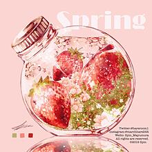 Spring 春の画像(いちごに関連した画像)