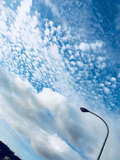 綺麗な空☁️💗の画像 プリ画像