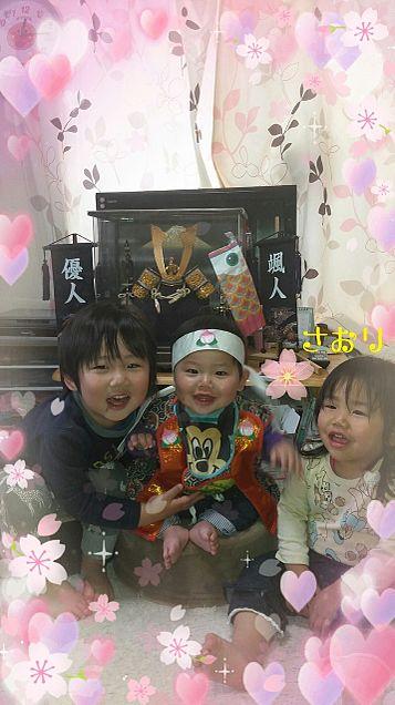 3人の子供たち💓の画像(プリ画像)