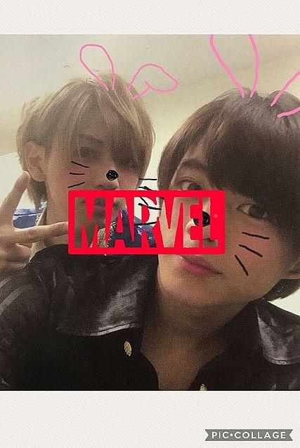平野紫耀&岩橋玄樹&MARVELの画像(プリ画像)