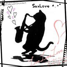 sax吹いてる猫ฅ(=・ω・=)ฅの画像(吹いてるに関連した画像)