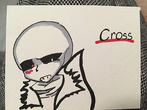 コピック買った記念のCross君( 。∀ ゚)の画像(プリ画像)