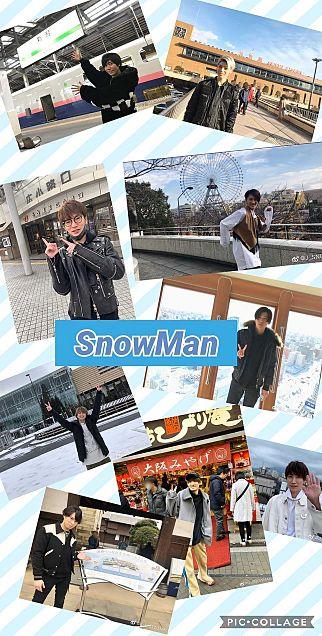 SnowMan壁紙の画像(プリ画像)