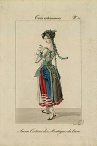 フランスの民族衣装風の衣装の画像(民族衣装に関連した画像)