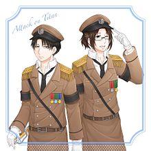 軍服リヴァハンの画像(プリ画像)