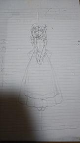 スカーレットさんのイメージ下絵の画像(下絵に関連した画像)