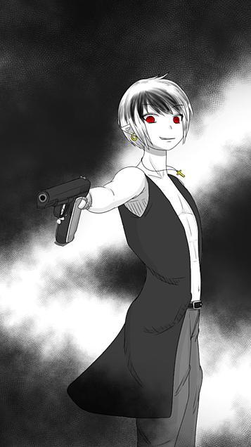 銃持ってる野郎の画像(プリ画像)