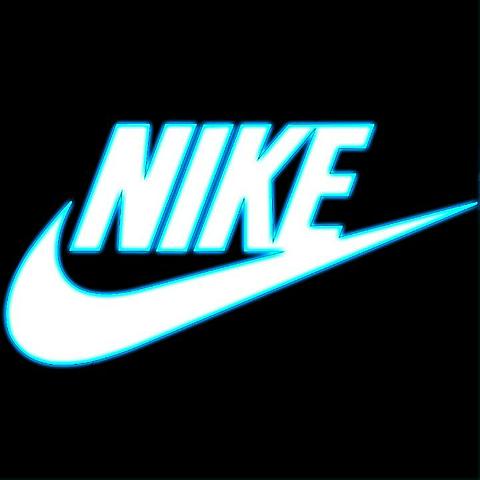 NIKE青の画像(プリ画像)