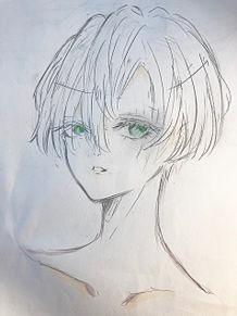 緑眼の画像(男の子に関連した画像)