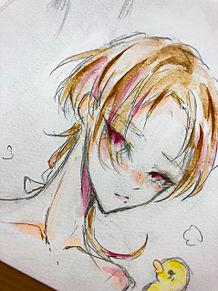 おふろ♡の画像(水彩に関連した画像)
