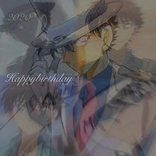 名探偵コナン 怪盗キッド 誕生日  加工画の画像(黒羽快斗に関連した画像)
