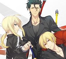 Fate/zero(セイバー&ランサー&アーチャー)の画像(プリ画像)