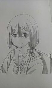 東郷さん描いてみたの画像(結城友奈は勇者であるに関連した画像)