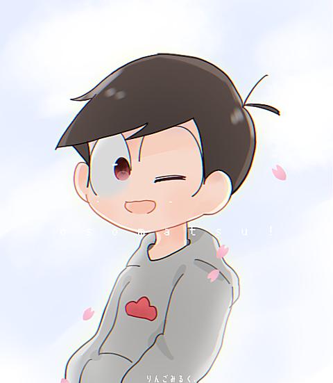 桜(の花弁)と長男ンンの画像 プリ画像