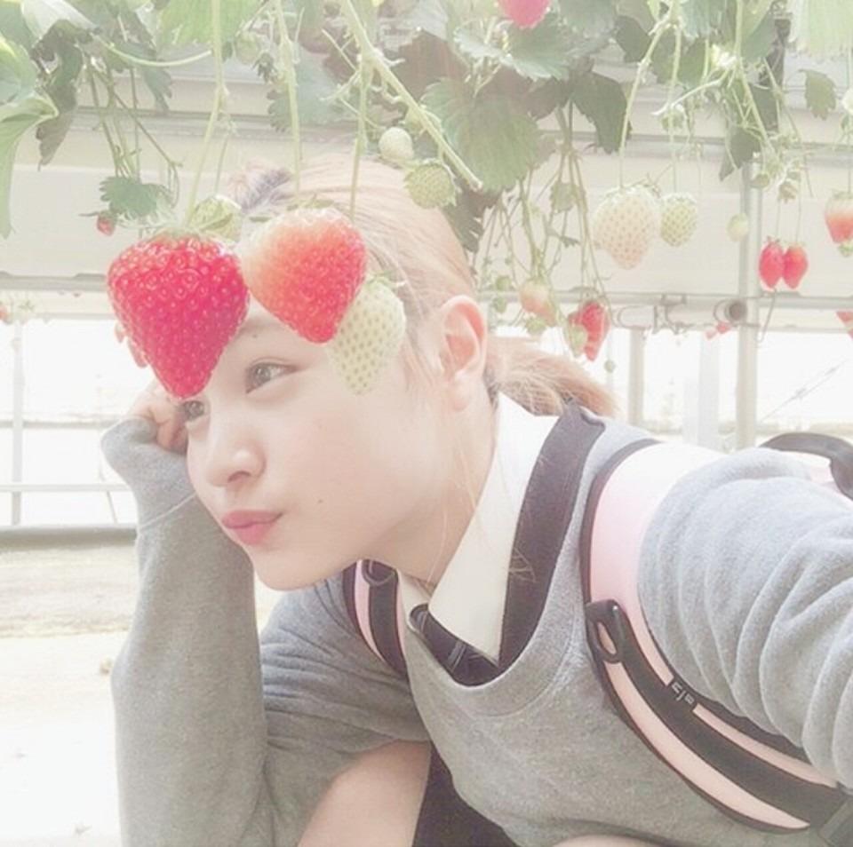 イチゴと大谷凜香