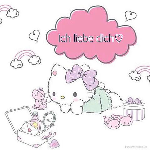ドイツ語でi love you♡の画像(プリ画像)