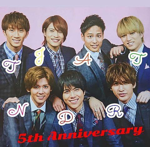 5th Anniversaryの画像(プリ画像)