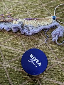 編み針の木の質良すぎて プリ画像