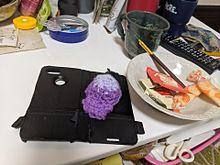 携帯キーホルダーの画像(携帯に関連した画像)