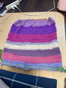 これで両袖編んだ プリ画像