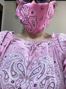 マスクとお揃い プリ画像