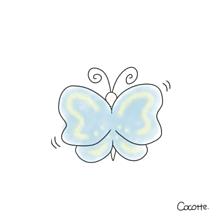 蝶々の画像(かわいい イラストに関連した画像)