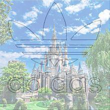 皆さん、adidasがお好きなようで〜シンデレラ城〜の画像(adidas、ディズニーに関連した画像)