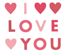 I LOVE YOUの画像(ガーリーに関連した画像)