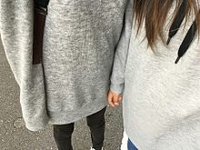 双子コーデ プリ画像