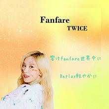TWICE歌詞 〜Fanfare〜 ミナパート プリ画像