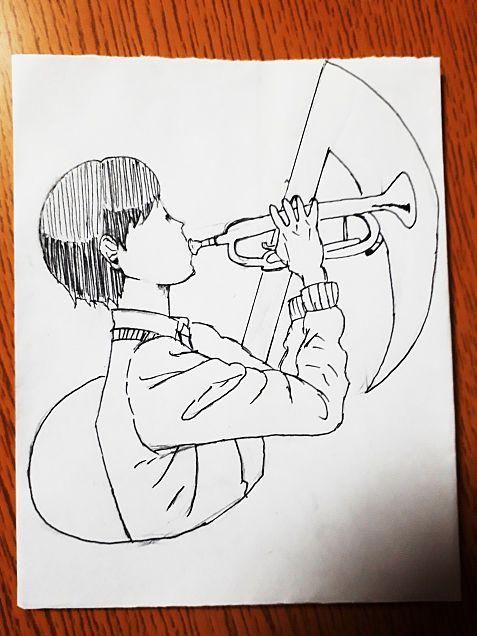トランペット男子の画像(プリ画像)