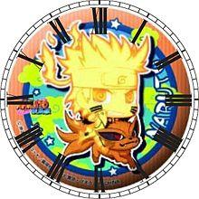 うずまきナルトで時計加工してみた(*´ω`*)の画像(うずまきナルトに関連した画像)