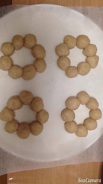 完成前のドーナツの画像(プリ画像)
