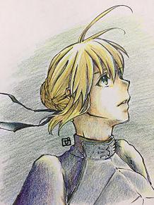 Fateセイバーの画像(プリ画像)