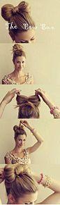 リボンヘアアレンジの画像(リボンヘアに関連した画像)